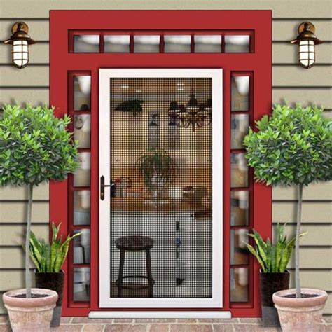 17 best ideas about security screen doors on
