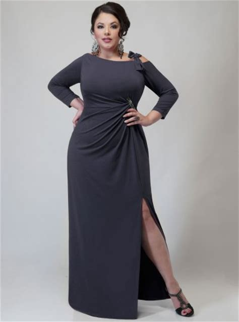 gray formal dresses  size