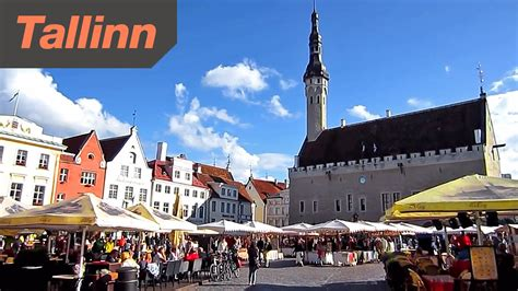 The City tallinn estonia hd tour of the city