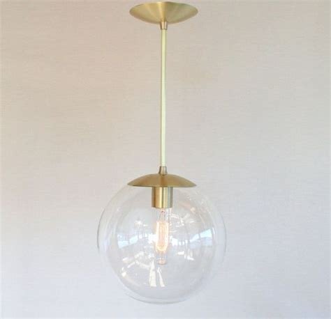 Mid Century Modern Pendant Lighting Mid Century Modern 10 Globe Pendant Light By Sanctumlighting Hmm Maybe We Should Sell Ours