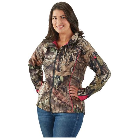 mossy oak womens jacket guide gear s mossy oak up country trim soft shell jacket 648879 fleece soft