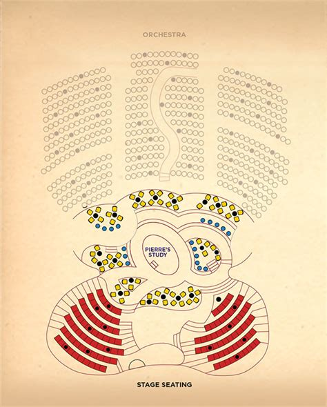 best seats for on broadway immersive seating plans revealed for broadway transfer of