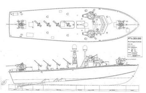 higgins pt boat drawings wip elco pt boat subsim 174 radio room forums