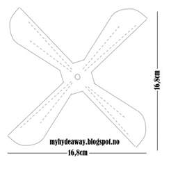 Paper Helicopter Template by My Craft And Garden Tales Template For A Paper Helicopter
