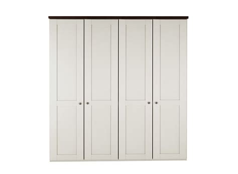 four door ellipse style wardrobe sloane 4 door wardrobe chagne and wood