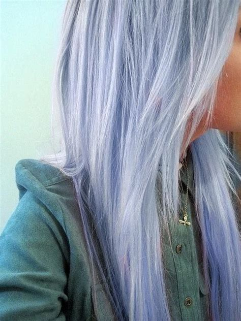 periwinkle hair highlights blue pastel hair pastel hair pinterest