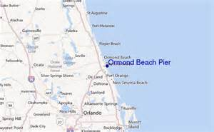 map of ormond florida ormond pier surf forecast and surf reports florida