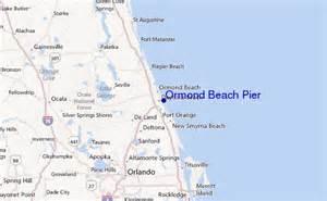 ormond florida map ormond pier surf forecast and surf reports florida