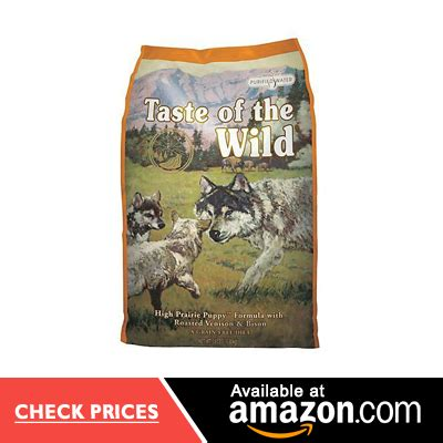 taste of the large breed puppy best food for puppies 10 vet approved brands