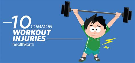 10 Common Preventable Workout Injuries by 10 Common Workout Injuries Healthkart