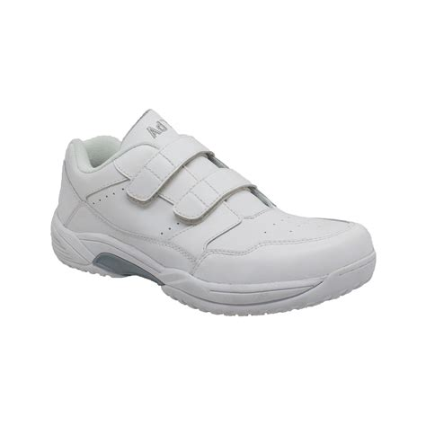adtec s slip resistant work shoe 9633 white wide