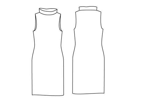 jersey pattern pdf jersey jersey shift pdf sewing pattern by angela kane