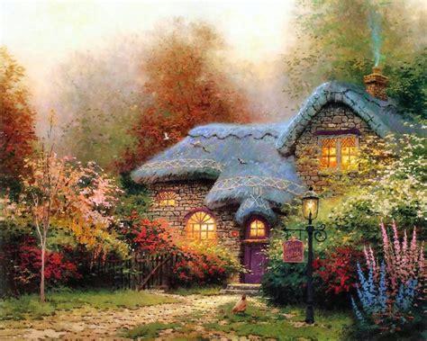 kinkade painter of light philip koch paintings edward hopper v s kinkade