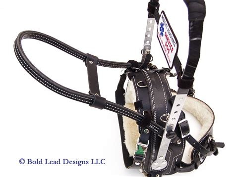 balance harness leather guide harness handle for mobility and balance support