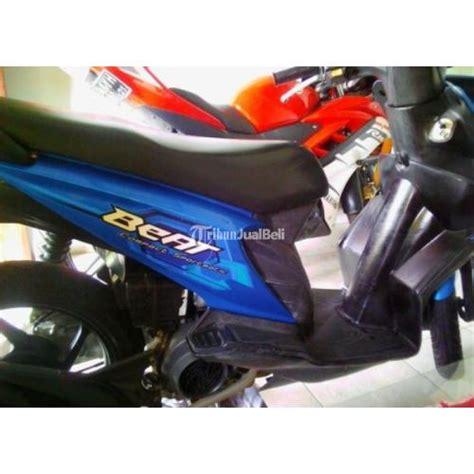 Bekasi Motor Beat Bekas motor matic murah honda beat 2009 warna biru seken mulus