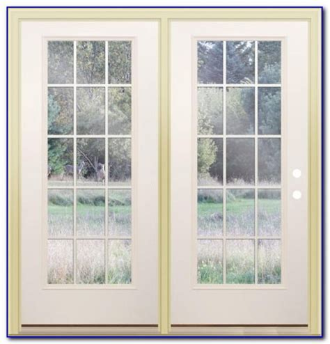 Center Swing Patio Doors With Screens by Inswing Patio Door With Screen Patios Home