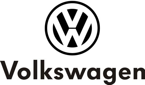 volkswagen logo black and white about paper tiger