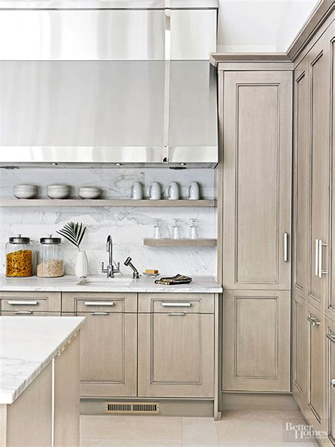 grey stained cabinets like the lighter grey 2nd but the flat drawer profile of the 3rd kitchen cabinet wood choices subtle textures oak island