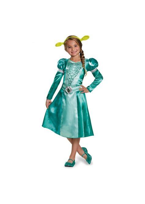 Dress Fiona dreamworks princess fiona classic dress costume