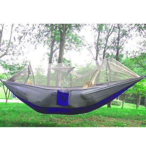 Salewa Hammock Ultralight 1 cing hammock mosquito net hammock bed widened parachute fabric ultralight comfort for hiking