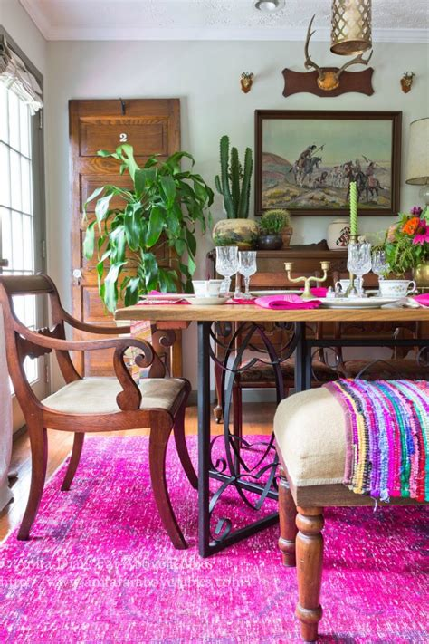 eclectic home    rubies