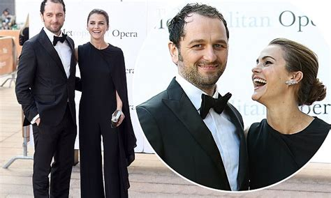 matthew rhys down the caravan keri russell and matthew rhys are stylish on date night at