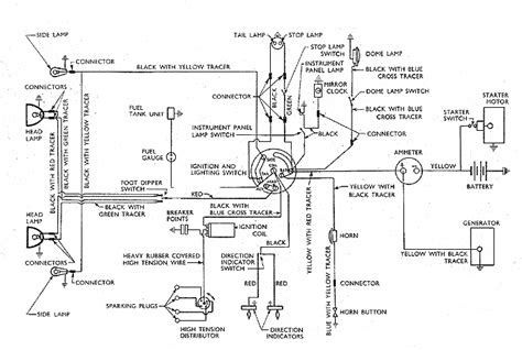 127 wiring diagram model c small ford spares