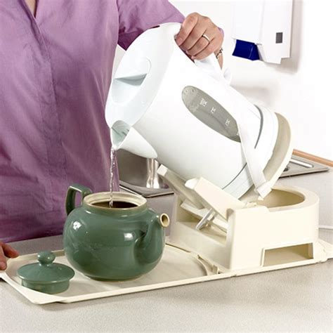 Kitchen Gadgets For The Elderly Derby Kettle Teapot Tipper With Base Kettle Tippers