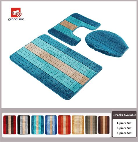 bathroom rugs set 3 piece 3 piece bathroom mat sets benefit cool ideas for home