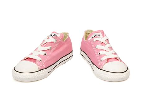 shoes for size 2 converse toddler pink white canvas trainers sneakers