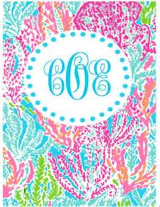 lilly pulitzer binder templates personalized lilly pulitzer binder cover with by