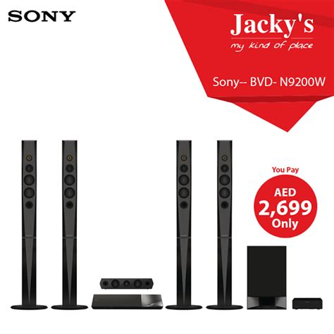 sony bdv n9200w home theater system offer at jacky s