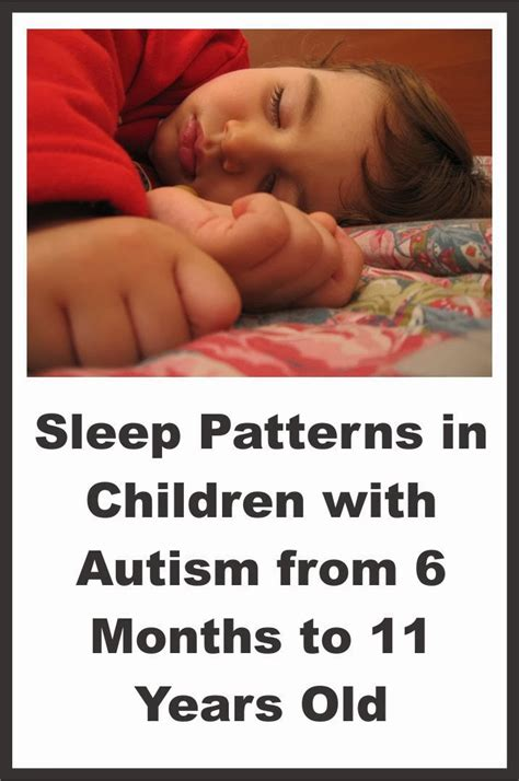 sleep pattern 1 year old sleep patterns in children with autism your therapy