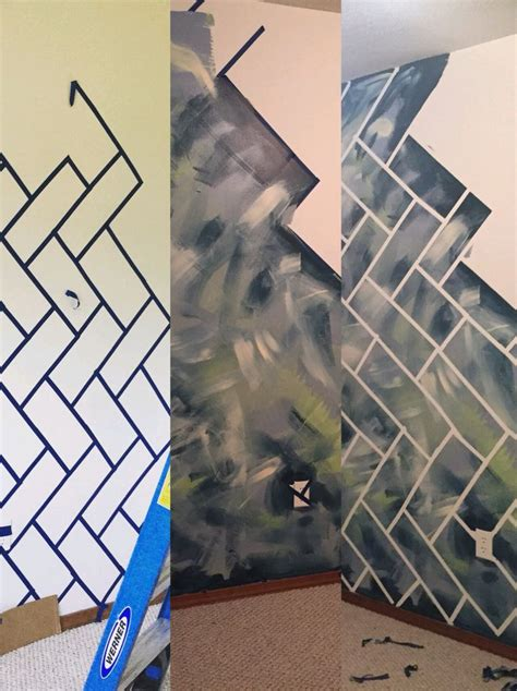 best 25 wall paint patterns ideas that you will like on best 25 painters tape design ideas on pinterest