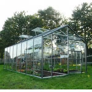 serre de jardin en verre solde