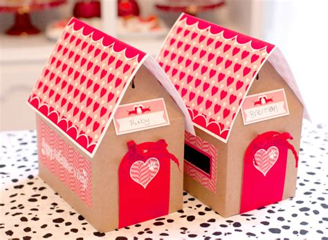 dog house valentine box puppy love valentine s day party project nursery