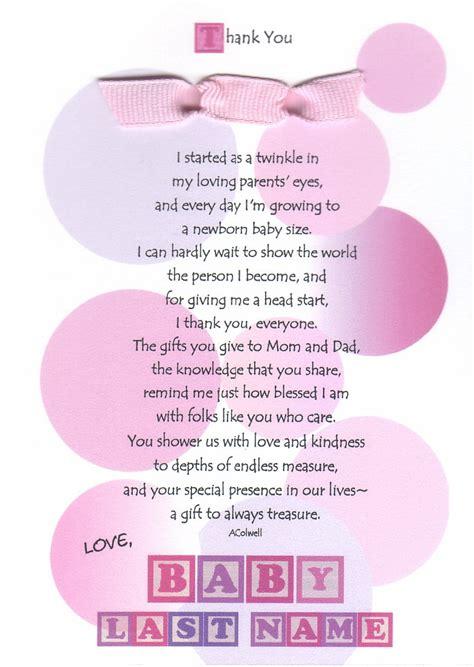 Gift Card Baby Shower Poem - baby shower gift card poems baby shower diy