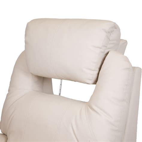 best rocker recliner for nursing cinemo cream leather recliner chair rocking massage swivel