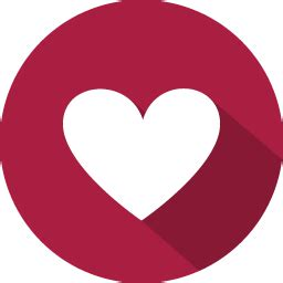 flat design icon heart favourite heart icon 100 flat vol 2 iconset graphicloads