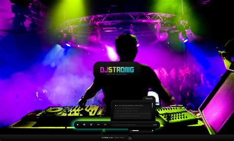 dj templates dj flash cms template 33997