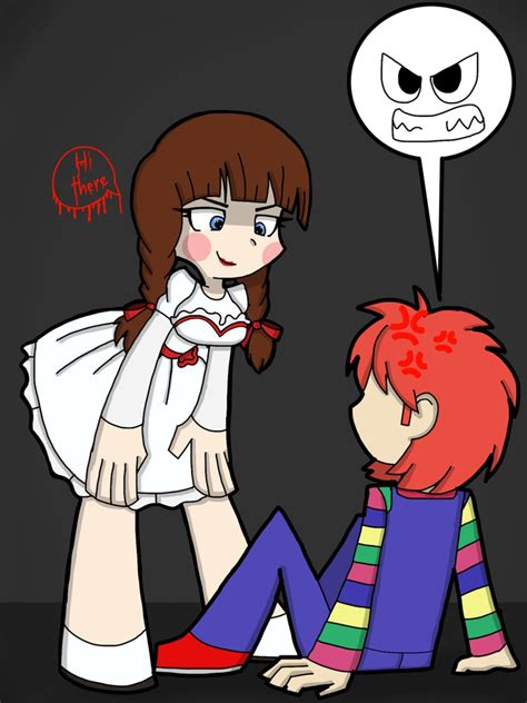 chucky doll x reader chucky meets annabelle by tinytoxicwaste101 on deviantart