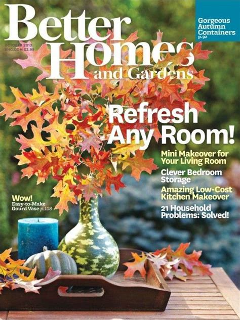house and garden magazine usa 1000 images about vintage bhg magazine covers on pinterest