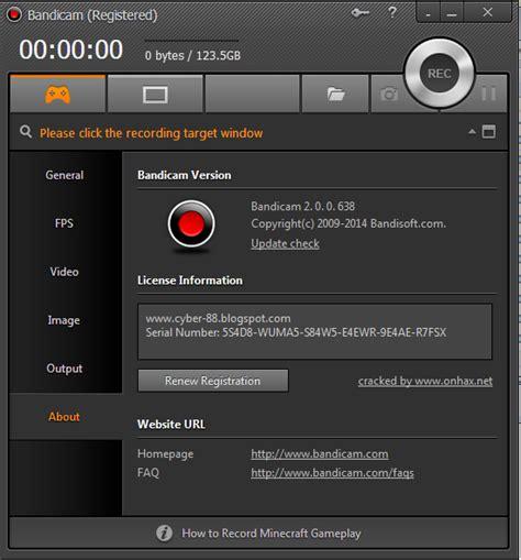 bandicam full version terbaru download bandicam 2 0 0 638 full version crack terbaru