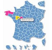 Carte Des D&233partements De France Interactive SVG Javascript