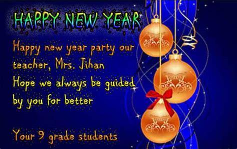 cara membuat kartu ucapan happy new year cara penulisan jenis dan contoh greeting card dalam