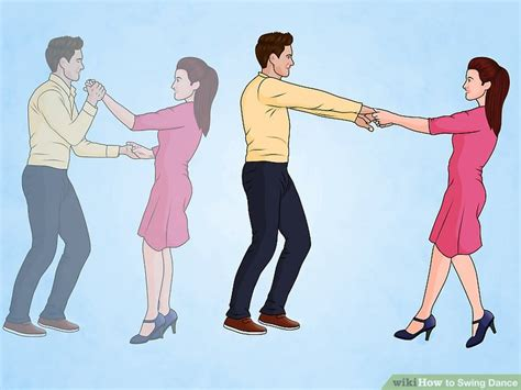 dance swing steps 3 ways to swing dance wikihow
