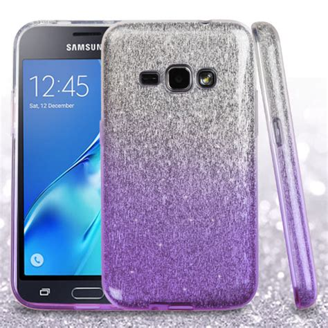 Samsung Galaxy J1 Electroplate Gliter Abcsamj1cteg for samsung galaxy j1 2016 2 glitter hybrid tpu