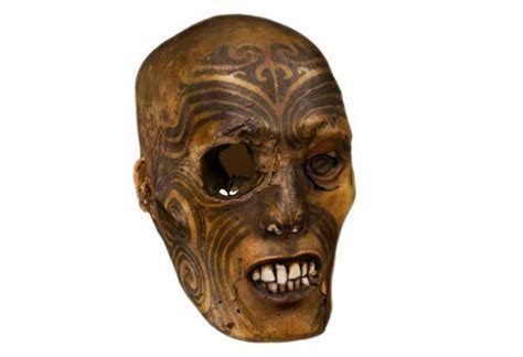 british tattoo history museum tattooed maori head returns to new zealand from british