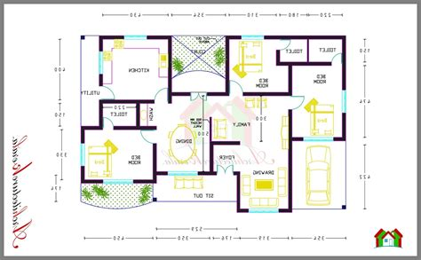 house plan with 3 bedroom 3 bedroom small house plans