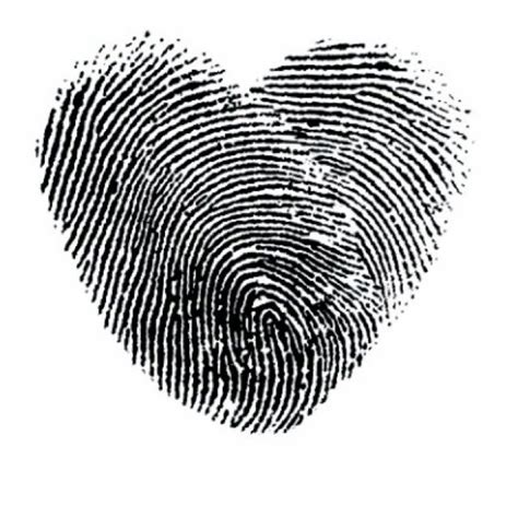 fingerprint heart tattoo gallery for gt fingerprint heart tattoo tattoos